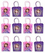 12PCS  Disney Princess Sofia The First Goodie bags Party Favor Bags Gift