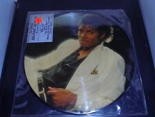 MICHAEL JACKSON PICTURE DISC LP EPIC 38867 THRILLER Record Album EX