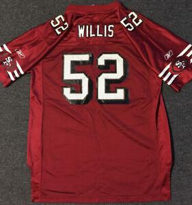 Vtg Patrick Willis #52 49ers On Field Jersey Youth XL 18-20 SF 90s Deion Sanders
