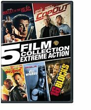 New! 5 Film Collection: Extreme Action Collection (Dvd, 2017, 3-Disc Set)