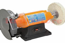 "8"" INCH BENCH TABLE TOP GRINDER BUFFER MACHINE POLISHER GRINDING POLISHING TOOL"