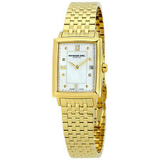Raymond Weil Tradition Gold-plated Stainless Steel Ladies Watch 5956-P-00995