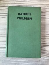 Bambi's Children - Felix Salten 1947 , 2nd Edition