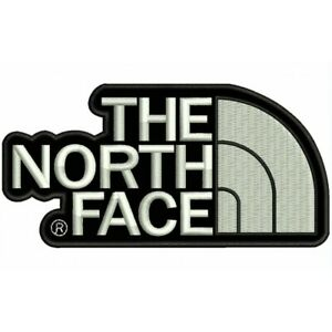 GESTICKTE PATCH EMBROIDERED PATCH IRON PATCH PARCHE BORDADO TIPO THE NORTH FACE