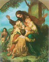 Mary Jesus Madonna With a Child Del Riposo Roberto Ferruzzi Postcard Icon