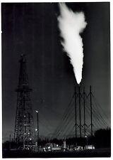 Photo Yan - Jean Dieuzaide - Pétrole - Tirage argentique d'époque 1958 -