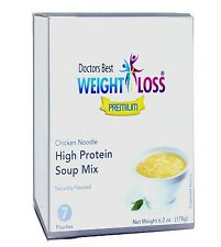 Doctors Best Premium - Chicken Noodle High Protein Diet Soup