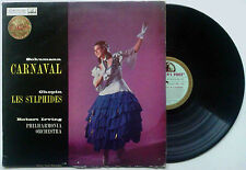ROBERT IRVING SCHUMANN Carnaval HMV CSD 1271 BLUE/GOLD (UK) VG+/VG