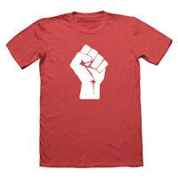 Communism Fist T Shirt, Socialist t-shirt, nerd tshirt, antifa, protest, geek