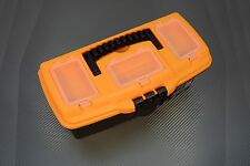 PREMIUM Werkzeugkoffer Leer Werkzeugkasten Werkzeugkiste Werkzeug Box Angelkiste