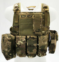 Giubbotto Corpetto Tattico Multicam Body Armor Light Royal Plus