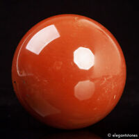 535g 72mm Large Natural Red Jasper Crystal Sphere Healing Ball Chakra