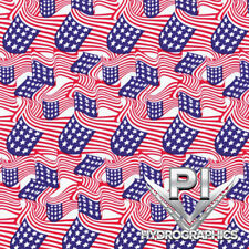 Hydrographic Film Hydro Dipping Water Transfer Printing Film American Flag LL361
