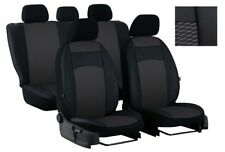 EcoLeather Tailored Full Set Seat Covers For NISSAN NAVARA 4 NP DOUBLE CAB 2015