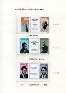 Kennedy kleine Sammlung ** postfrische Ausgaben (2384)