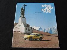 1977 Porsche Christophorus Magazine #129 911 928 924