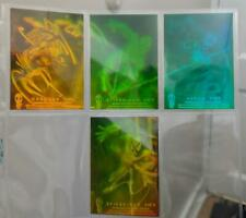 Rare 1994 Inaugural Amazing Spiderman Complete 4 Card Hologram Set Nm/Mint
