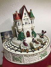 Lenox Christmas Cenerpiece 2sets Train And Teacup