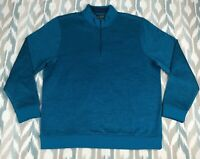 Under Armour Storm ColdGear Men's 1/4 Zip Golf Sweater Fleece Patterned Size XL