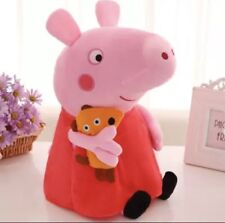 Genuine Peppa Pig pink PIG Plush Soft Stuffed cartoon Animal Doll  FREE SHIPPIN