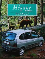 Renault Mégane Scénic Prospekt 11 96 brochure 1996 Auto PKWs Autoprospekt Scenic