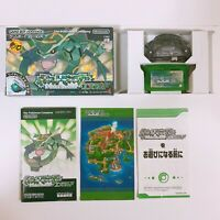 Pokemon Emerald Pocket Monsters Wireless Game Boy Advance GBA Nintendo Japan VG
