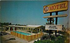 c1960s 39 Motel, Westminster, California Postcard