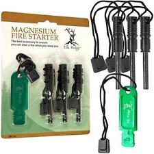 Elk Ridge Fire Starter Kit 4 Piece Magnesium Fire Starter Emergency Kit ER-115
