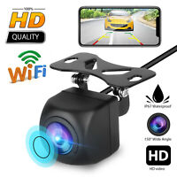 WiFi HD Wireless Car Rear View Cam Backup Reverse Camera For Android IOS iPhone