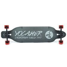 Yocaher Aluminum Drop Through Complete longboard - Black