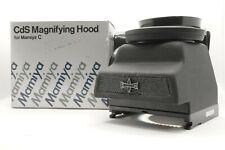 [Rare!! MINT IN BOX] Mamiya Cds Chimney Magnifying Hood Finder C220 C330 Japan
