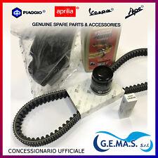 Kit tagliando vespa gts mp3 X7 XEVO 300 cinghia 82941R candela olio filtri