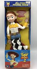 Vintage Original Toy Story 2 Pull String Talking Jessie Thinkway Toys