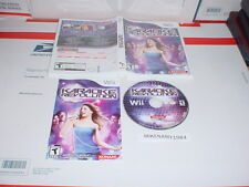 KARAOKE REVOLUTION game only in case w/ Manual for Nintendo Wii