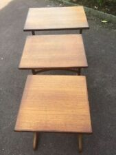 G Plan Solid Wood Vintage/Retro 3 Nested Tables