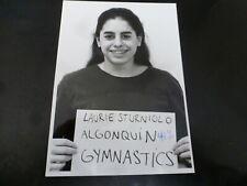 Vintage Glossy Press Photo-Algonquin Gymnastics Laurie Sturniolo 1990's
