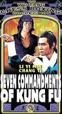 Seven Commandments of Kung Fu [VHS] Chung-Kuei Chang, Yi Chang, Kuo Chung Ching