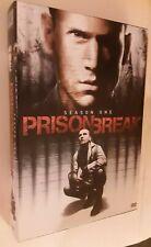 Prison Break First Season 1(DVD, 2009, 6-Disc Set) 22 Episodes - 3 Featurettes