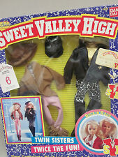Sweet Valley High - ROCKIN' RAGS - 2 Complete Fashions - Barbie Size - New