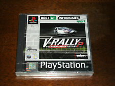 V-RALLY 2 (VERSIONE BEST OF INFOGRAMES) PS1 - SIGILLATO!!! - RARISSIMO!!!