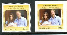 Australia-Prince George new issue mnh-Royal Family(gummed & Self-adhesive)(2)