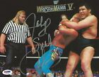 Jake The Snake Roberts WWE Signed 8x10 Photo PSA/DNA COA Wrestlemania V Picture