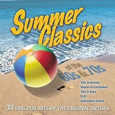 FREE US SHIP. on ANY 3+ CDs! USED,MINT CD Summer Classics of the 60's & 70: Summ