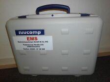 NIVCOMP Schlauchwaage der EMS Estrichmaschinen ; EMS Bielefeld ; Estrich