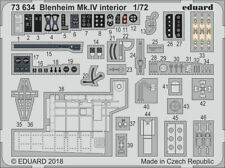 EDUARD 1/72 Bristol Blenheim mk. IV INTERIORE #73634