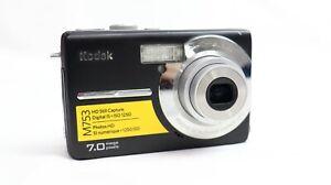 Kodak EasyShare M753 ~ 7.0MP 3x Zoom ~ Digital Camera ~ Black  ~