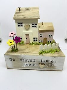Handmade Wooden Driftwood Coastal Cottage For Home Gift