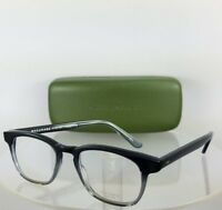 Brand New Authentic MASUNAGA 049 Eyeglasses Dark Grey to Clear 48mm Frame
