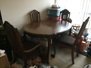Vintage Wood Dining Table In Dining Furniture Sets For Sale In Stock Ebay