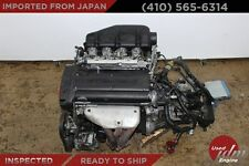 JDM Toyota 4A-GE DOHC 1.6L 20Valve Engine Black top AE111 6 Speed Trans 4AGE